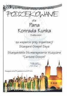 Stargard Gospel Days