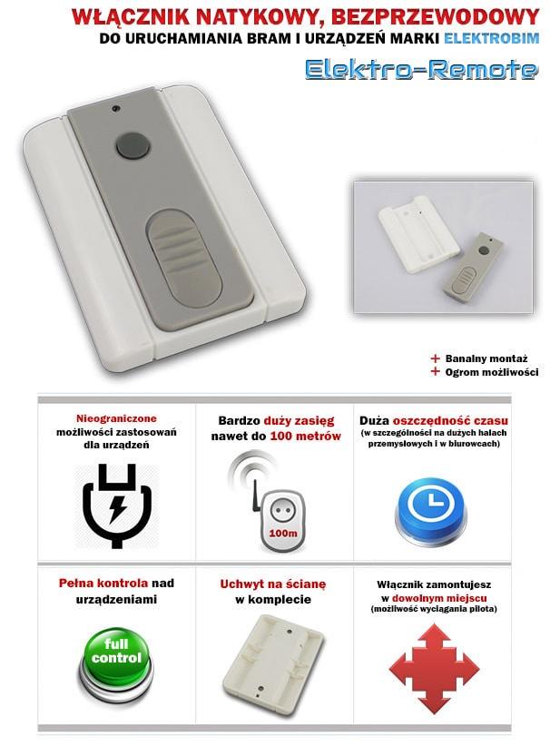 Bezprzewodowy-włącznik-Elektro-Remote