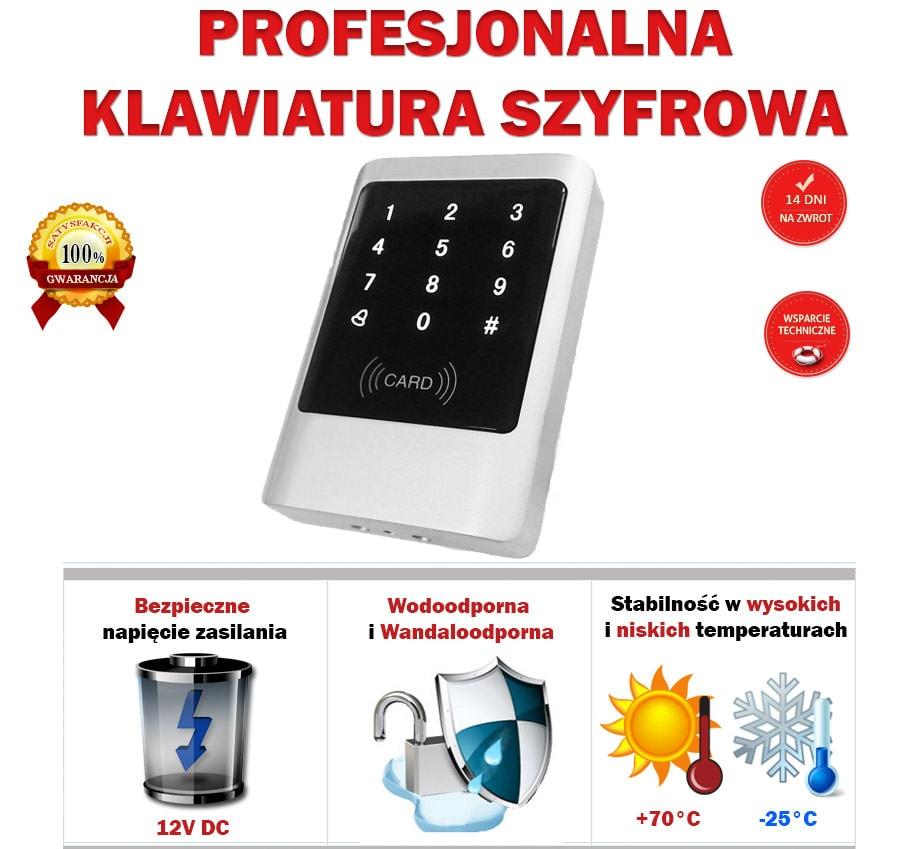 Klawiatura szyfrujaca RFID główne