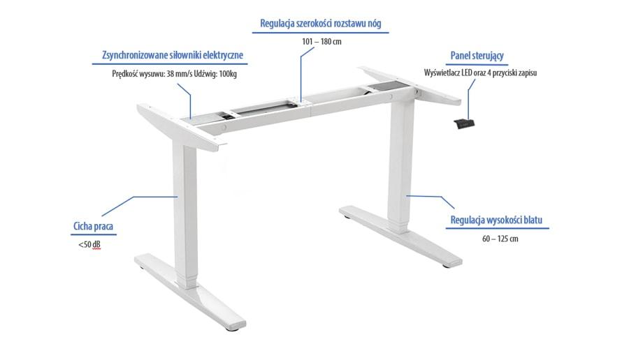 biurko regulowane elektrycznie dlaczego warto