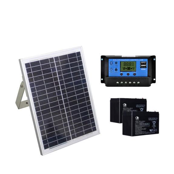 zestaw zasilania słonecznego solarnego